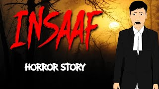 Insaaf - इंसाफ | Animated Horror Stories in Hindi | Scary Stories | ToonGiri