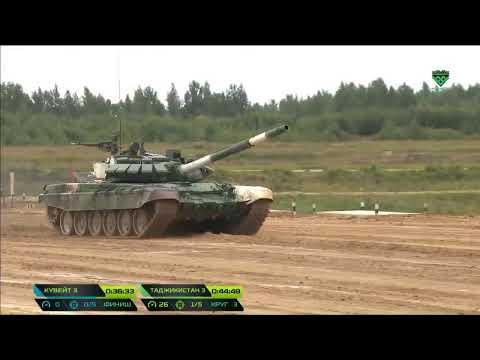 #МинобороныLive Прямая трансляция с конкурса «Танковый биатлон» V Международных армейских игр