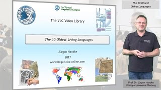 GEN130 - The 10 Oldest Living Languages