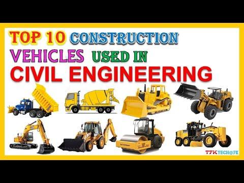 Top 10 Vehicles Used In Civil Engineering