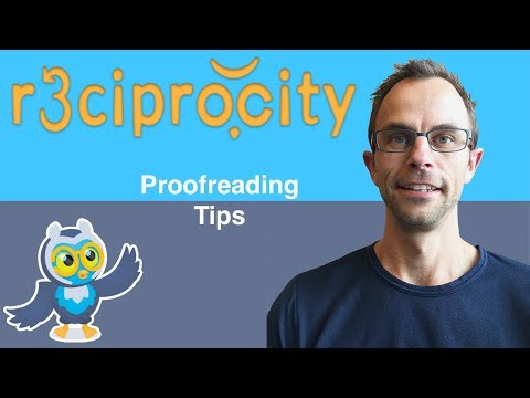 Testing r3ciprocity.com: Proofreading tips to impress your boss
