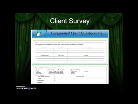 Marketing Secrets of Top Producing Financial Advisors Client Survey