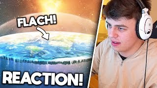 Papaplatte reagiert auf FLAT EARTH THEORIE! 🌍 | Papaplatte Highlights