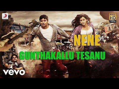 Nene - Gunthakallu Tesanu Lyric | Harris Jayaraj | Jiiva