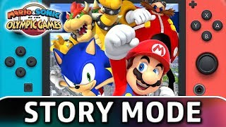 Mario & Sonic at the Olympic Games Tokyo 2020 | First 40 Minutes of Story Mode on Switch