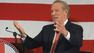 Pataki Announces 2016 Bid, Clinton Trust Falls