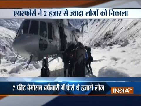 Himachal Pradesh: IAF rescue operation enters final stage, around 2000 people rescued