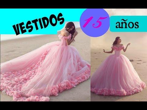 Los Vestidos para 15 años mas LINDOS del Mundo!!!