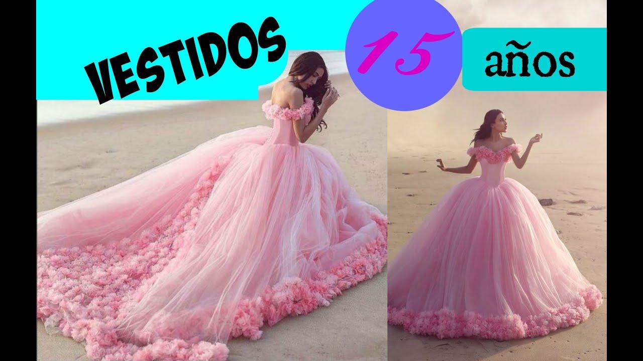 81a8ef58c Los Vestidos para 15 años mas LINDOS del Mundo!!! - YouTube