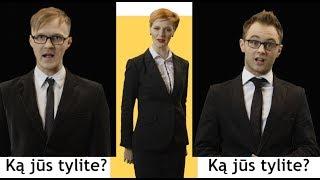 Gambar cover Liūdni Slibinai - Girdžiu, ką jūs tylite (oficialus vaizdo klipas)