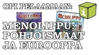 Opi pelaamaan: Menolippu Pohjoismaat ja Eurooppa