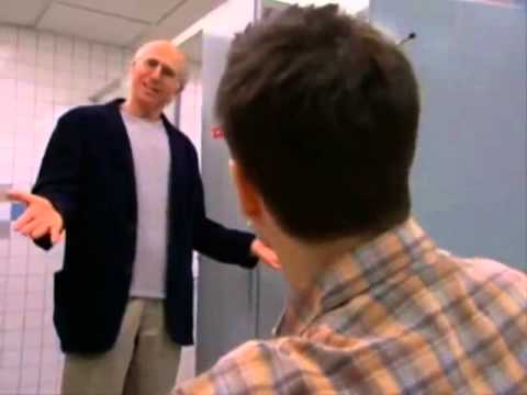 Curb Your Enthusiasm - Disabled Restroom Stall
