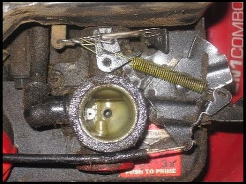 briggs and stratton 500 series carburetor diagram rosemount 4 wire rtd wiring hp & quatro motor spring linkage close up detail - youtube