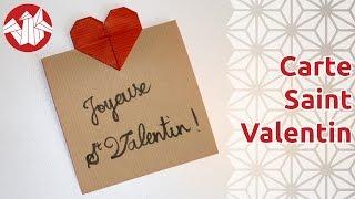 Origami - Carte Pour La Saint Valentin