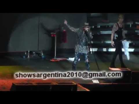 GUNS N' ROSES – ARGENTINA 2014 – DVD SHOW COMPLETO (With DUFF McKAGAN)