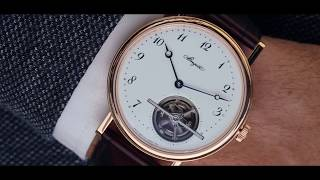 On June 26, 1801, Breguet obtained a patent for the Tourbillon inve...