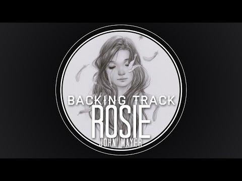 Rosie Guitar Solo Backing Track - John Mayer
