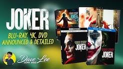 JOKER - Blu-ray, 4K, DVD Announced & Detailed