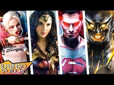 Justice League & Wonderwoman REVEAL, JSA Legends, Flash NEW Speedster // Superhero Spotlight Podcast