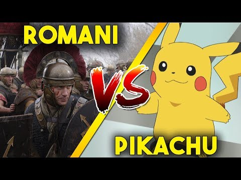 ROMANI vs PIKACHU ► Ultimate Epic Battle Simulator Gameplay ITA [UEBS - MOD] thumbnail