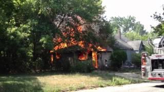 Detroit Fire Department Box Alarm on Detroit's Westside