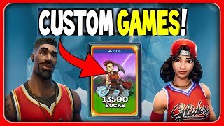 🔥BASKETBALL-SKINS in the shop + CUSTOM GAMES TURNIER🏆 Live: Fortnite [English]