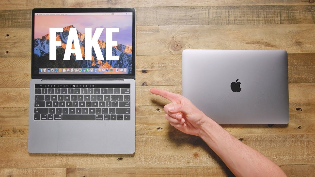 50 Fake Macbook Pro Vs 1 500 Macbook Pro Youtube