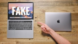 One of Jonathan Morrison's most viewed videos: $50 Fake MacBook Pro vs $1,500 MacBook Pro