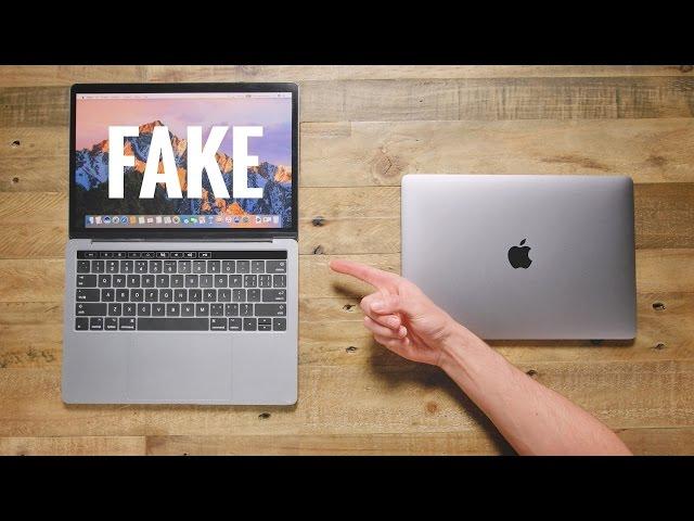 $50 Fake MacBook Pro vs $1500 MacBook Pro