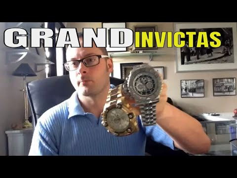 Invicta Watches : Sea Hunter VS  Grand Arsenal Watch Review