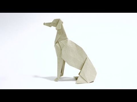 How to make an Origami Greyhound