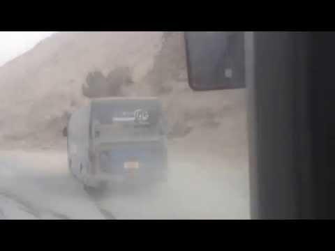 Salang - 0580 bus kabul to mazar e sharif
