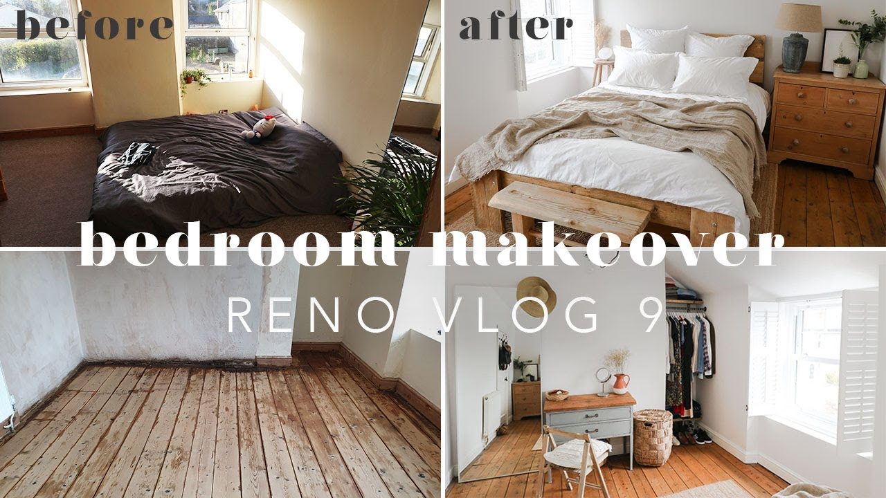EXTREME COTTAGE BEDROOM MAKEOVER | RENO VLOG 9