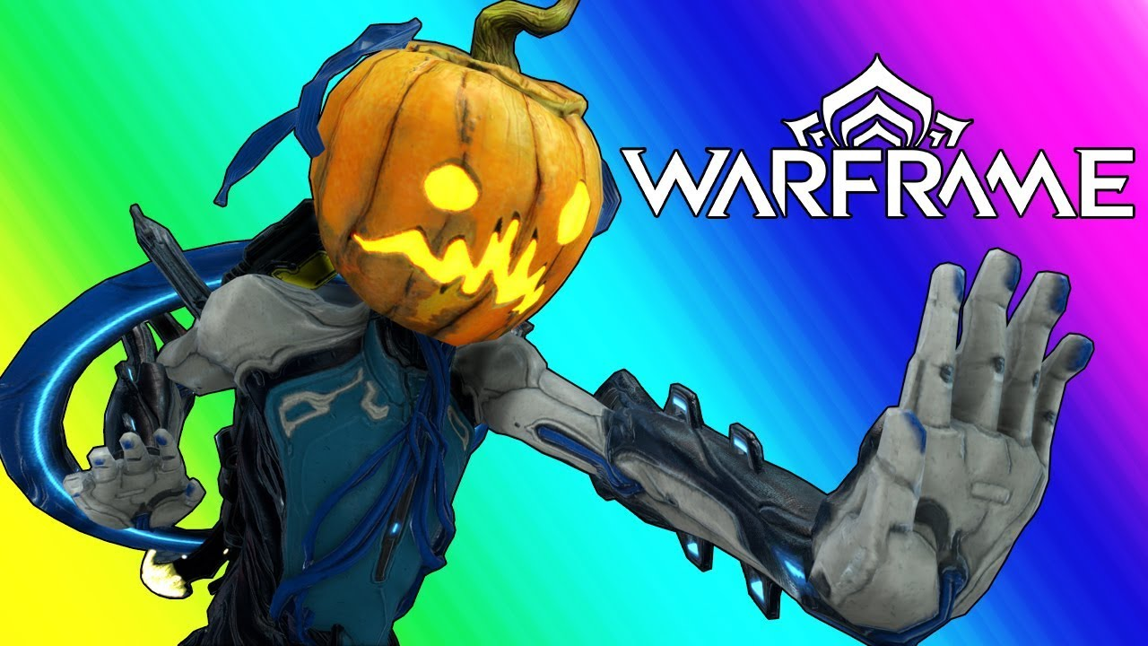 Warframe Funny Moments The Way Of The Pumpkin Master YouTube
