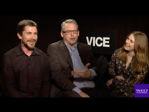 Christian Bale, Amy Adams And Adam McKay On The Making Of 'Vice' (uncut)