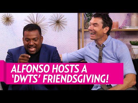 Alfonso Ribeiro Talks About His 'DWTS' Friendsgiving