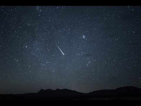 Perseid Meteor Shower - Mojave Desert, California