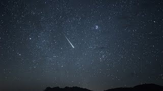 Perseid Meteor Shower - Mojave Desert, California