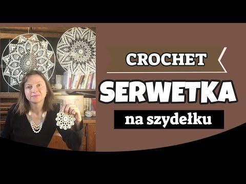 Prosta szydełkowa serwetka-Easy crochet doily