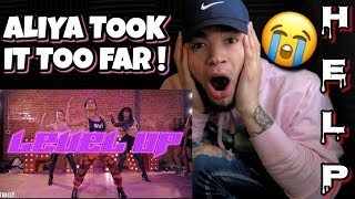 Aliya Janell LEVEL UP Ciara Dance Choreography REACTION ! (Why She Do Me Like That ?!