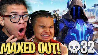 OMG *NEW* TIER 100 SEASON 7 SKIN IS UNSTOPPABLE! *NEW* MAP, AIRPLANES, CAMOS! FORTNITE BR RAGE!!!