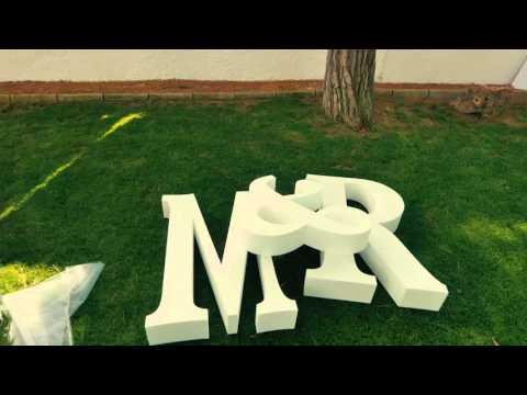 Celebración enlace M&R