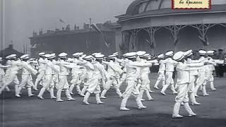 видео: Марсово поле в Петербурге в 1912 году. Спортивный праздник.