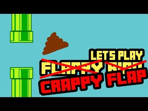 Crappy Flap Gameplay Impressions (Flappy Bird Clone)