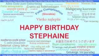 Stephaine   Languages Idiomas - Happy Birthday