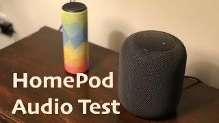 HomePod vs UE Boom: HomePod Audio Review