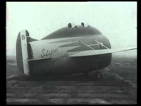1933 Voli Sperimentali Aeroplano Stipa Caproni