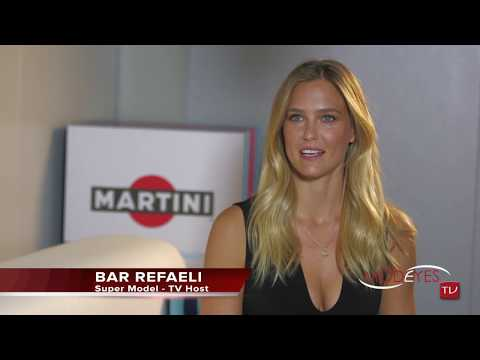 SUPER MODEL BAR REFAELI INTERVIEW -  MILAN 2015