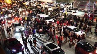 MASSIVE TRUMP PROTESTS TAKE OVER LOS ANGELES!