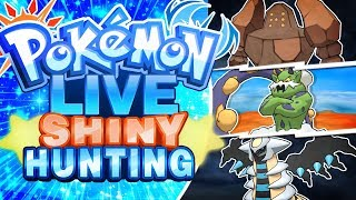 LIVE Ultra Space Legendary and Ultra Beast Shiny Hunting! Pokemon Ultra Sun and Ultra Moon!